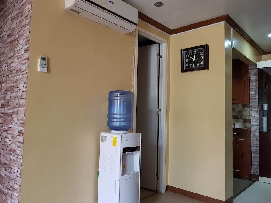 Entrance to the toilet - ground floor