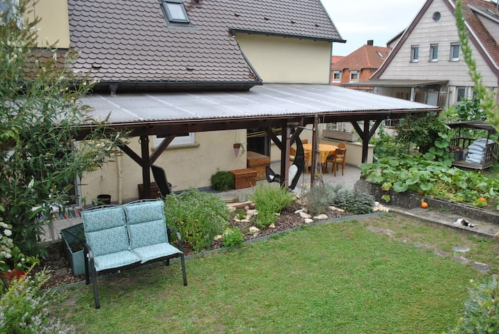 Beautiful holiday flat with terrace near Legoland - Giengen an der Brenz - Huoneisto