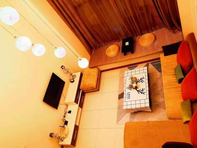 江景温馨loft两床 拱北口岸/华新天地/酒吧街