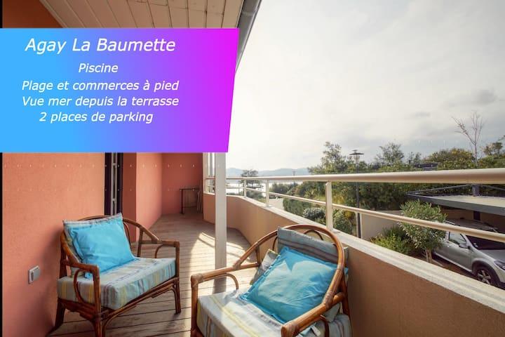 Appartement 4/6 personnes La Baumette - Agay