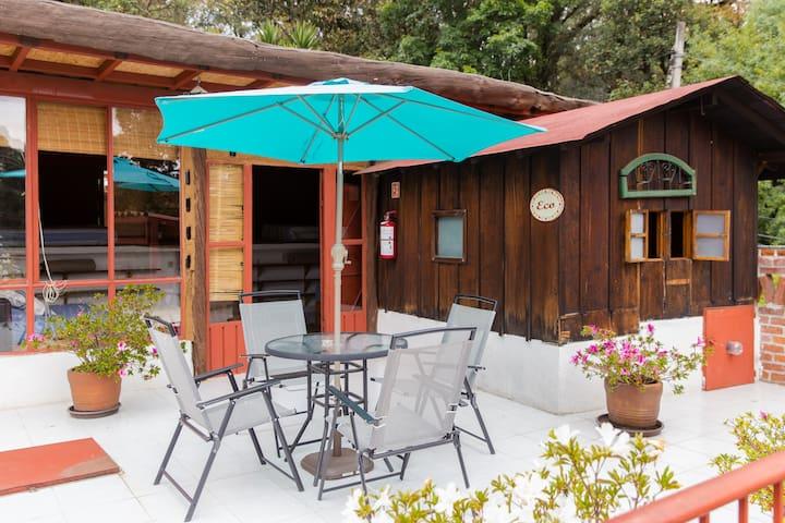 Habitación ecológica y acogedora - Real Montecassino