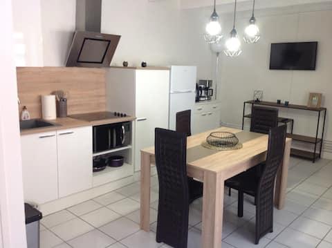 Appartement indépendant dans village du Mâconnais