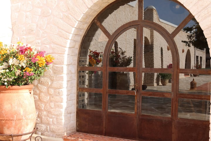 Dar Ti Janat : Chambre Safran vue piscine