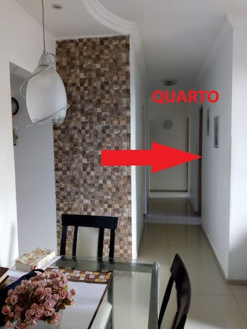 Acesso ao quarto - corredor