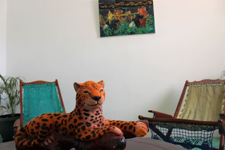 Casa Jaguar=Great location+20Megas internet speed!