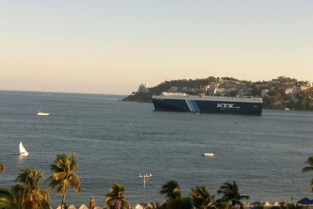 Vista a la bahía.