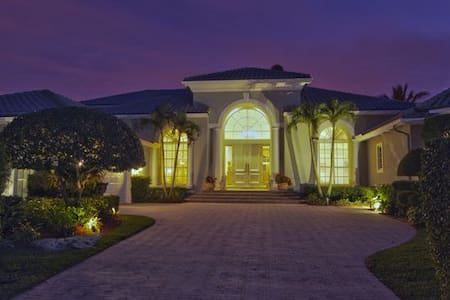 Amazin luxury house with full suite - Palm Beach Gardens