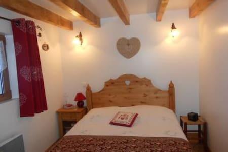 chaleureux chalet avec vue exceptionnelle - 瓦卢瓦尔 (Valloire) - 牧人小屋