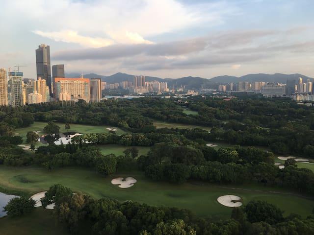 高尔夫球场边的家+趣园 - Shenzhen - Apartment