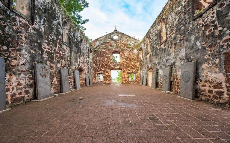 A Famosa melaka History place 书上的马六甲历史历史出现在你面前