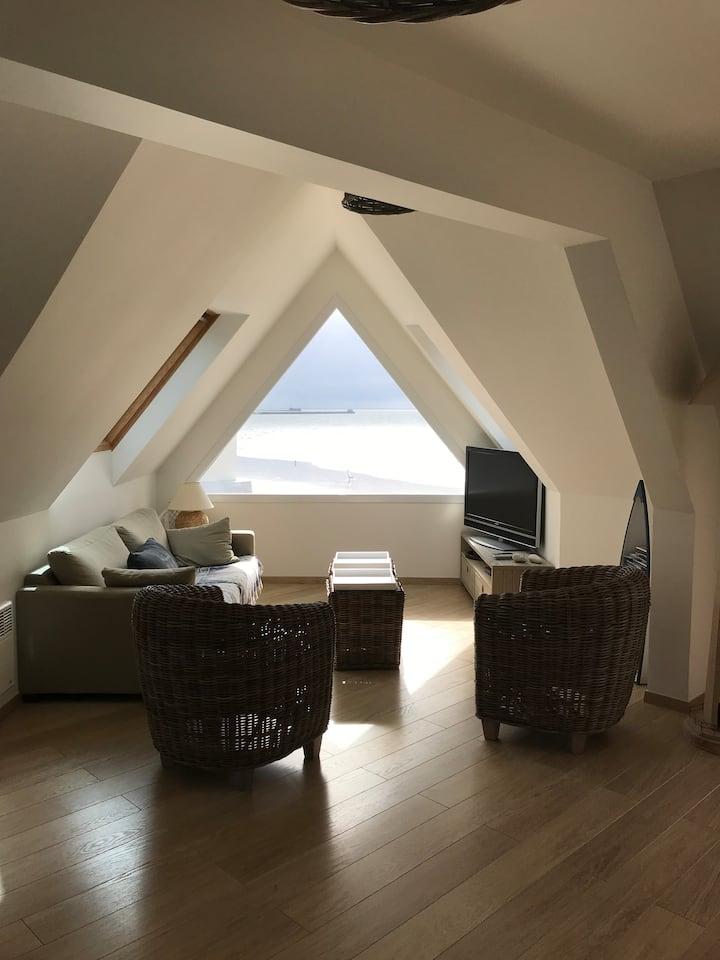 Bel appartement avec superbe vue mer !!!