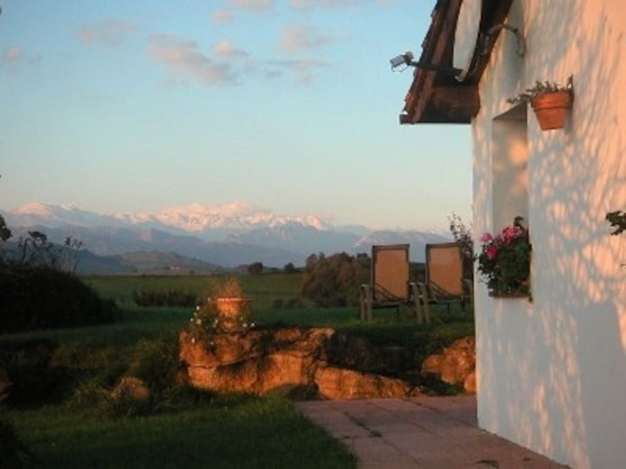 Awesome sights to the Picos de Europa mountains