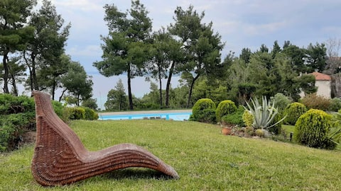 Luxury Villa in Posidi with breathtaking view