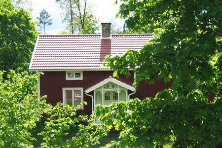 Ferienhaus am Ruskensee - Vrigstadsan  Haus Langö