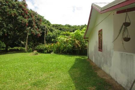 Maison dans la vallée d'Ina - Poindimie
