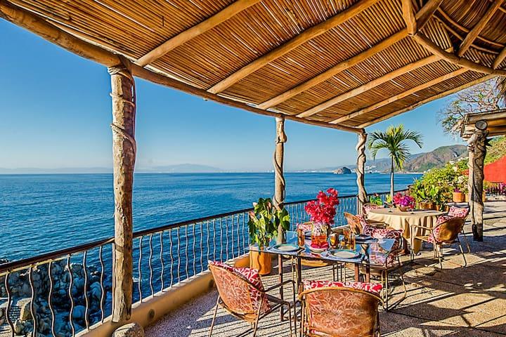 Villa Mia 12 Bedrooms: 107455 - Boca de Tomatlan - Huvila