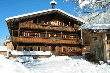 Wörglerhof Hüttenappartement&Sauna - Alpbach - Apartmen