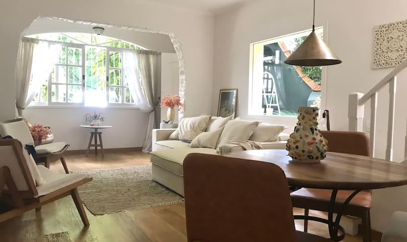 Casa para Fotos e filmes - charmosa e versátil