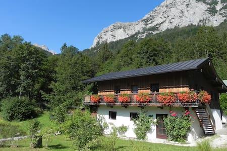 Rustikales Haus am Bergsee - Ramsau bei Berchtesgaden - House