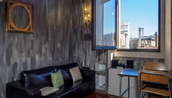Pied a terre industrial style 2 Level, Moscova