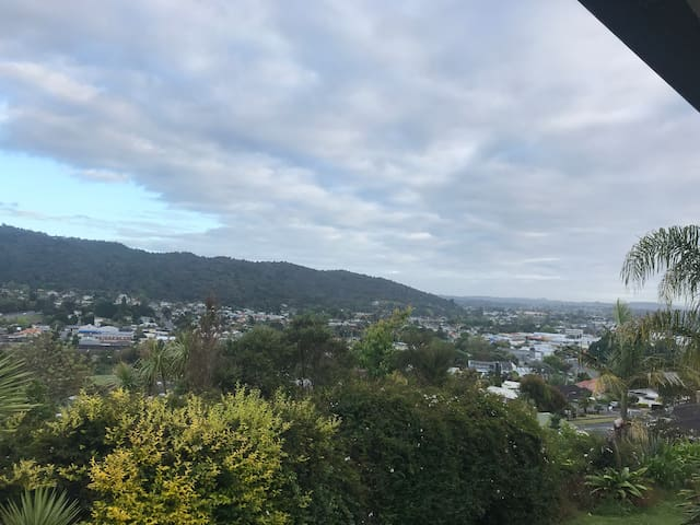 Stay with a view in the heart of Northland