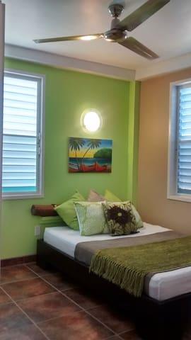 Bedroom 1 - Double Bed with TV & Netflix