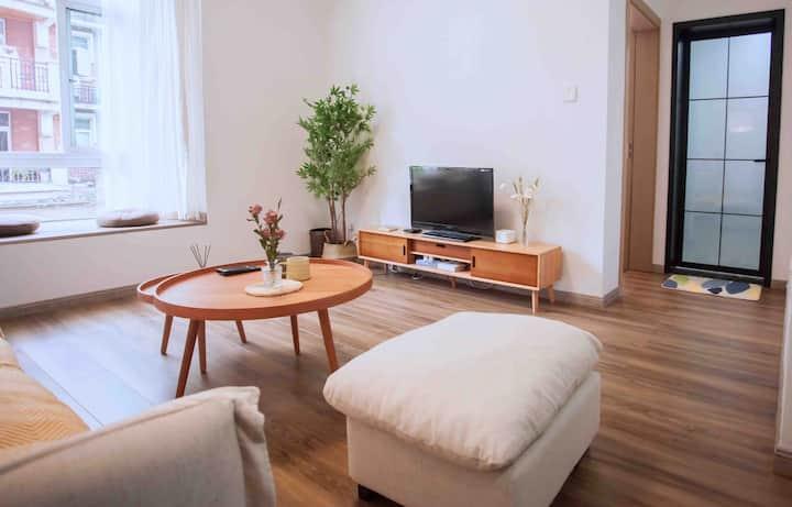 (朴宿)东区莱茵河畔 万达商圈 高档小区标准套房安静舒适