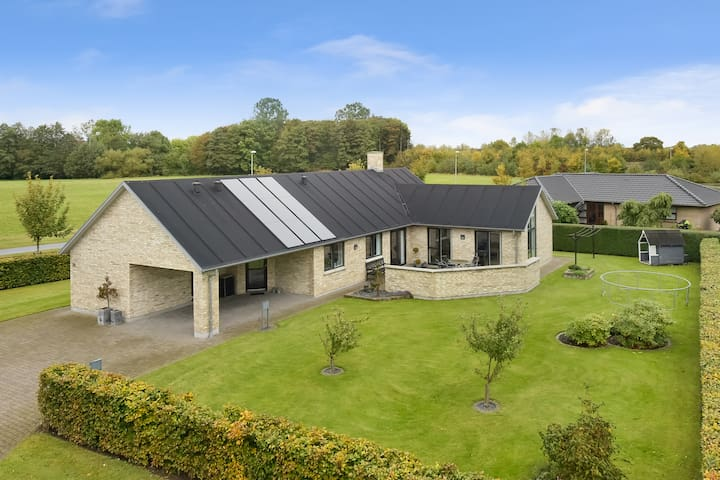 Luxury villa in northern Denmark