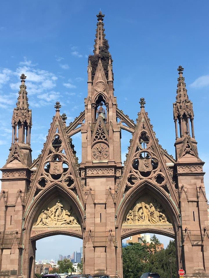 Landmarked Gothic arches