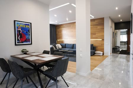 Luxury Penthouse - Heart of Kyiv - 24/7 Security