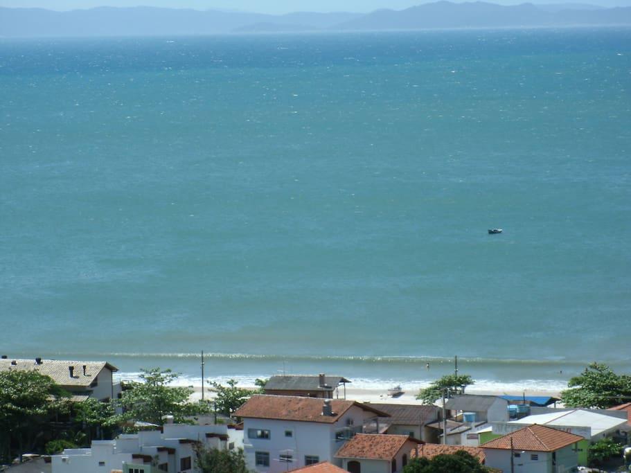 vista da praia da lagoinha