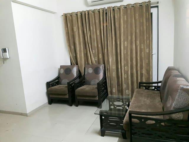 Full furnished flat in navi mumbai - Navi Mumbai - Apartamento