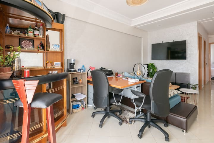 A work desk is useful for business travelers, student-researchers, and also tourists.