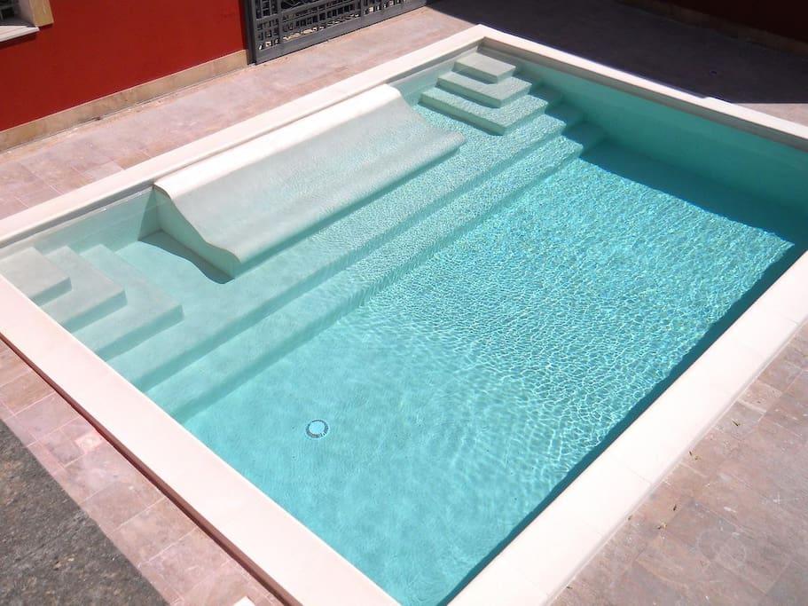 piscina di acqua salata