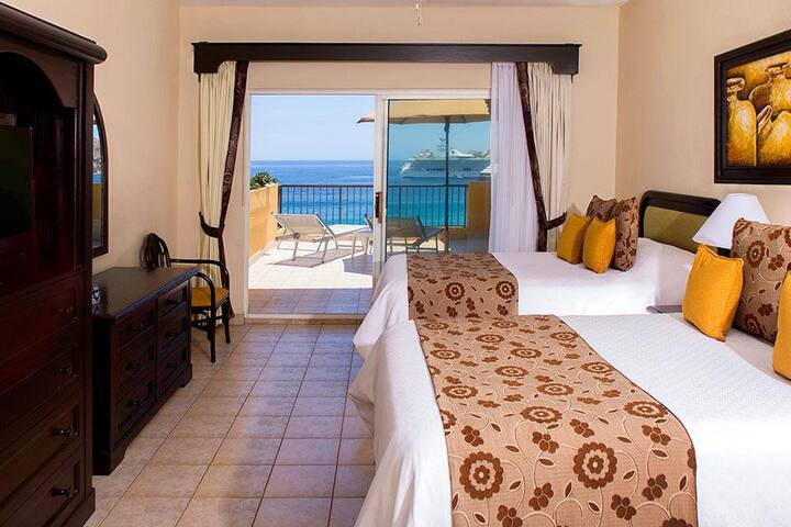 CABO Ocean Front Resort + Spa + Swimmable Beach