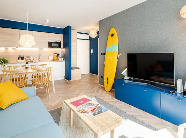 Apartament SURF - Surfing Bird Kołobrzeg