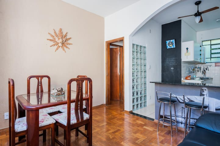Quarto aconchegante no bairro São Lucas! - Belo Horizonte - Apartment