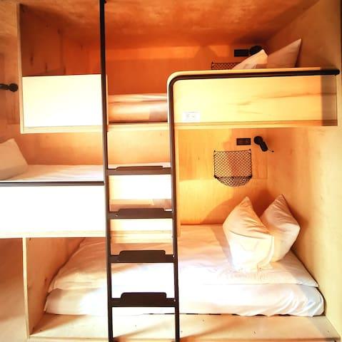 Chambre pour 4