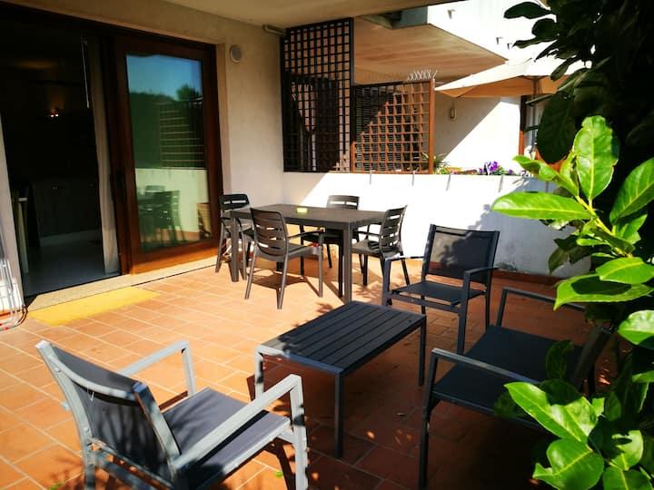 Studio in Dosson di Casier mit eingezäuntem Garten und W-LAN - 42 km vom Strand entfernt