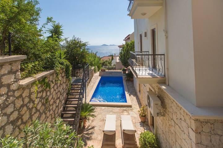 2 bedroom apartment with private pool - Kalkan Belediyesi - Appartement