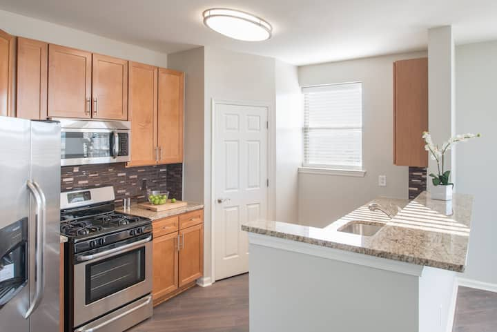 Live + Work + Stay + Easy | 1BR in East Rutherford