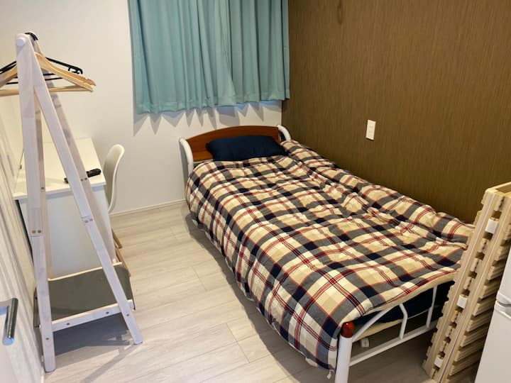 Kamata station/ 5 mins/Share room/7㎡/Free wifi