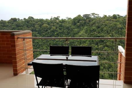APARTAMENTO VACACIONAL   ESPECTACULAR VISTA - Pereira - Appartement