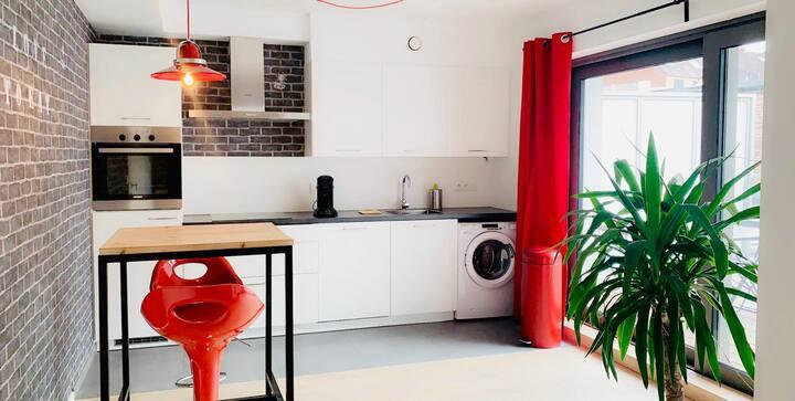 Appartement neuf à 2 pas des com. européennes