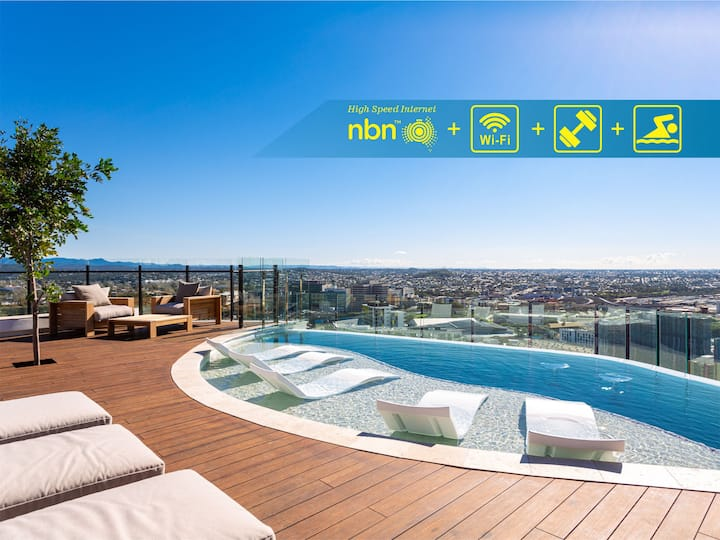 Premium Apartment with Rooftop Pool Access FVW8P6 - Long Term Available via Inquiry