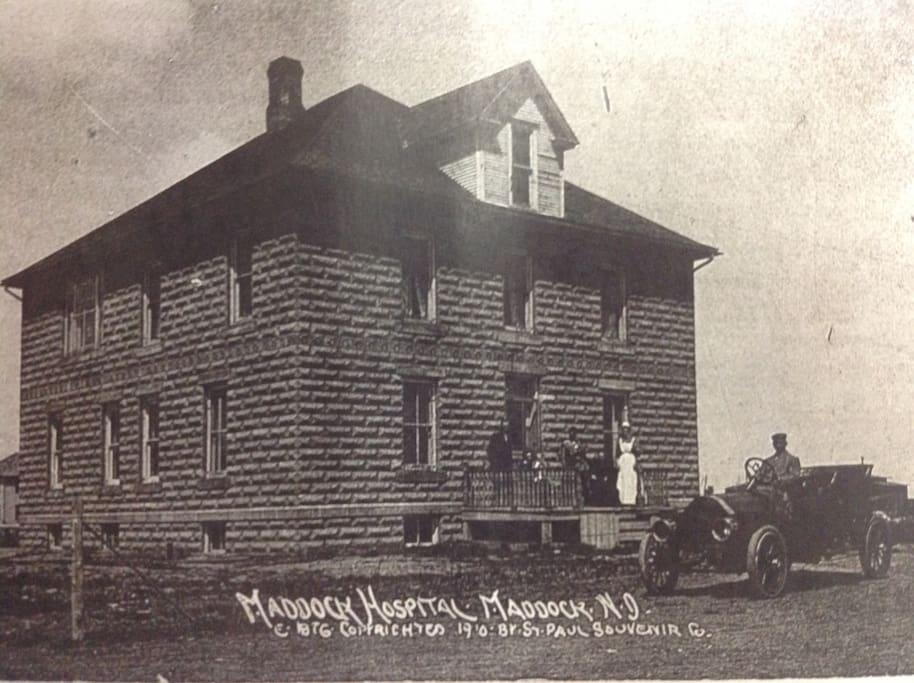 An original picture of the building taken in 1910.