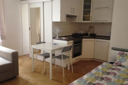 Quiet apartment on the riverbank - Praag - Appartement