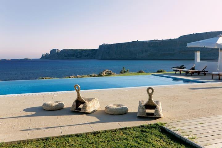 villa blue mare - Lindos - Hus