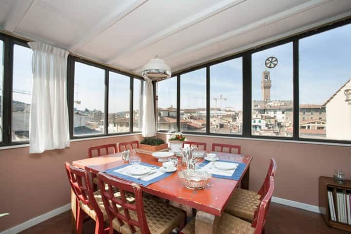 Design room with breathtaking view, Santa Croce