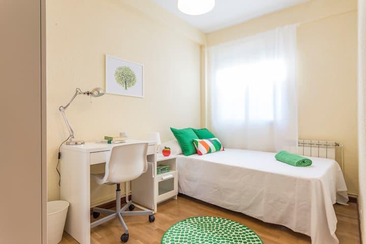 Acogedora habitación Universidad Carlos III WIFI